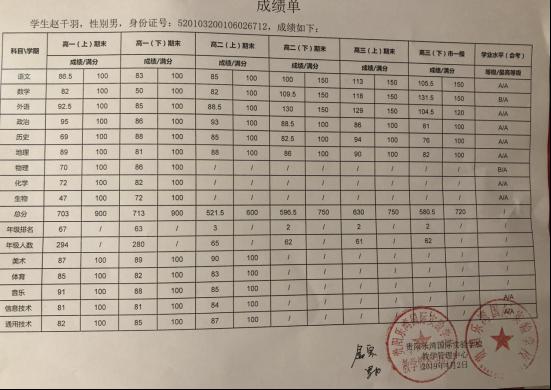 赵千羽南开大学自招公示107.png