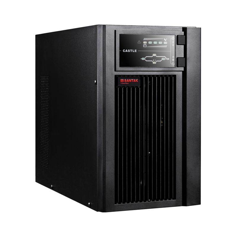 山特UPS-城堡系列C1K-C3KS 单进单出 1/2/3KVA 不间断电源
