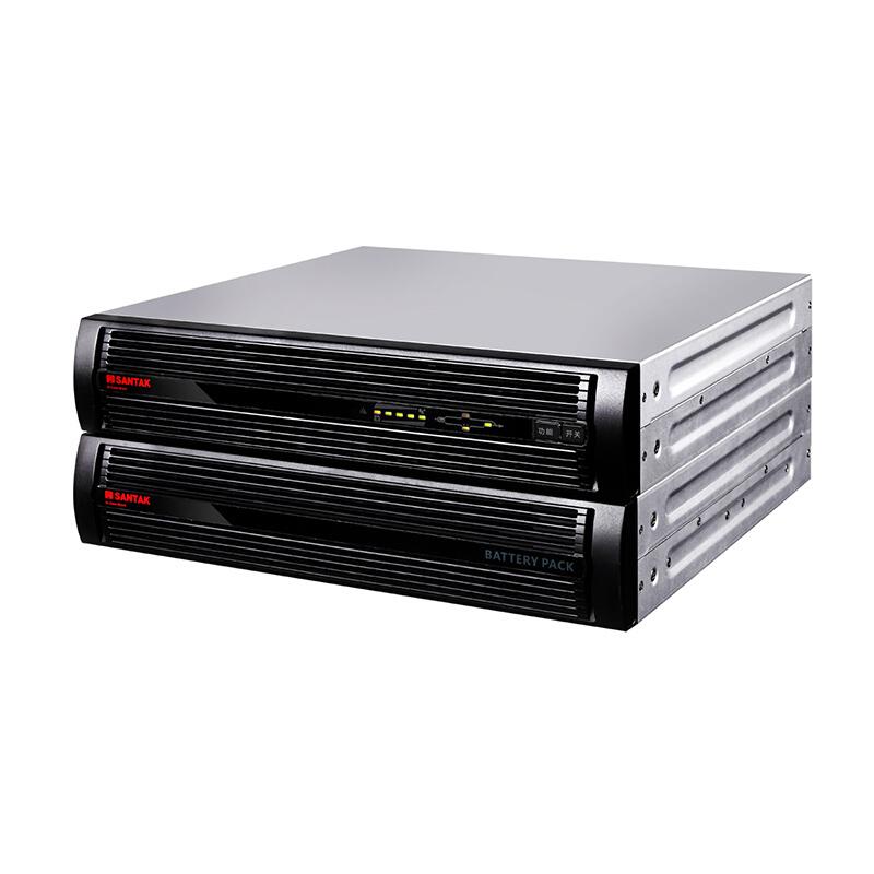 山特C系列机架式1-10KVA UPS电源主机C1KRS-C10KRS