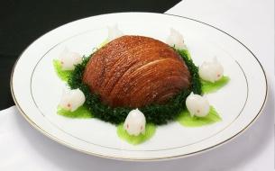 津门名肴:玉兔烧肉