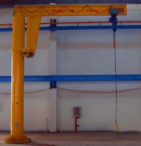 室外建筑小型移动式悬臂吊机 旋臂起重机