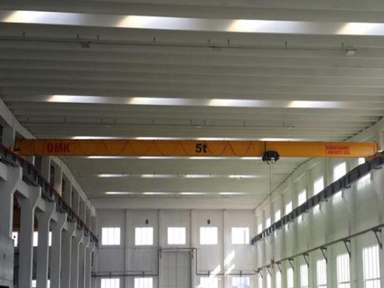 东莞起重机(单梁)工厂安装效果