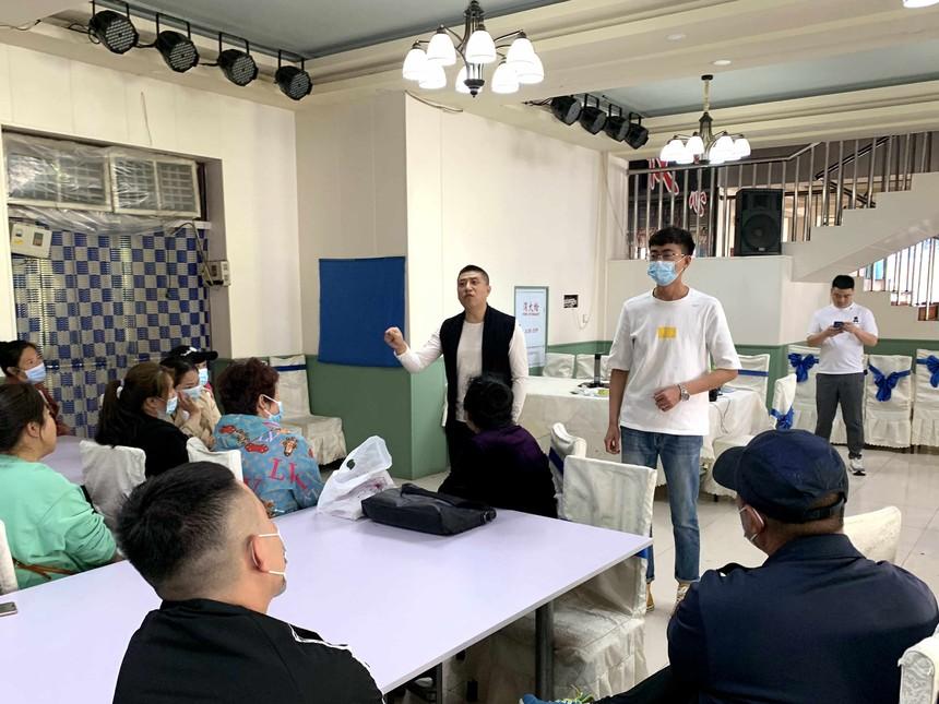 甘南职教中心学校中式烹调师培训班开班