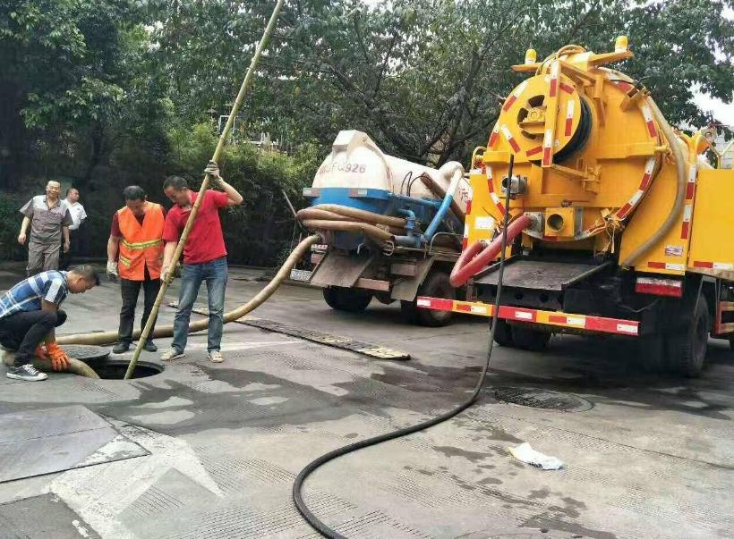 杭州管道清淤工程