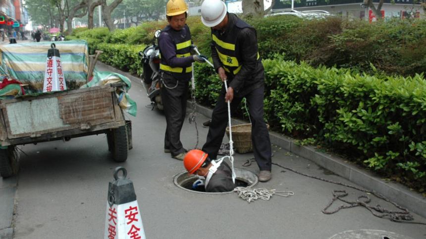排水管道清洗施工作业流程