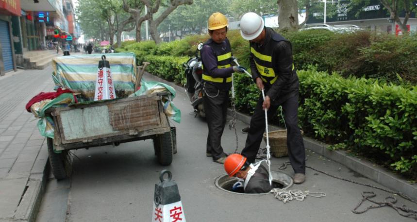杭州市政管道清淤