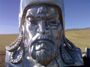 不锈钢人像雕塑-上海古夏公司