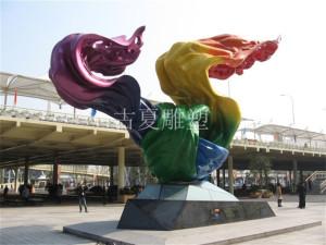 购买雕塑,上海古夏油漆不锈钢雕塑厂家是您最佳合作伙伴