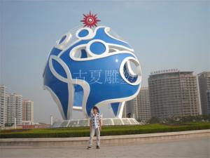 不锈钢雕塑看看他们怎么选?好口碑选上海古