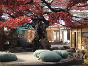 生态餐厅农庄仿真假树