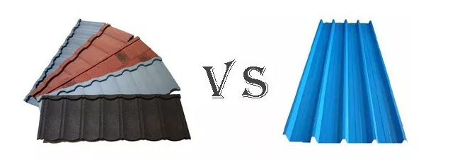 彩石金属瓦vs传统瓦