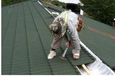 金属瓦屋面施工