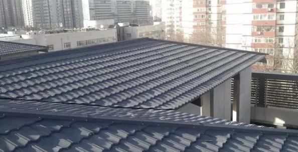 金屬瓦建筑