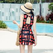 金格尔裙式连体泳衣