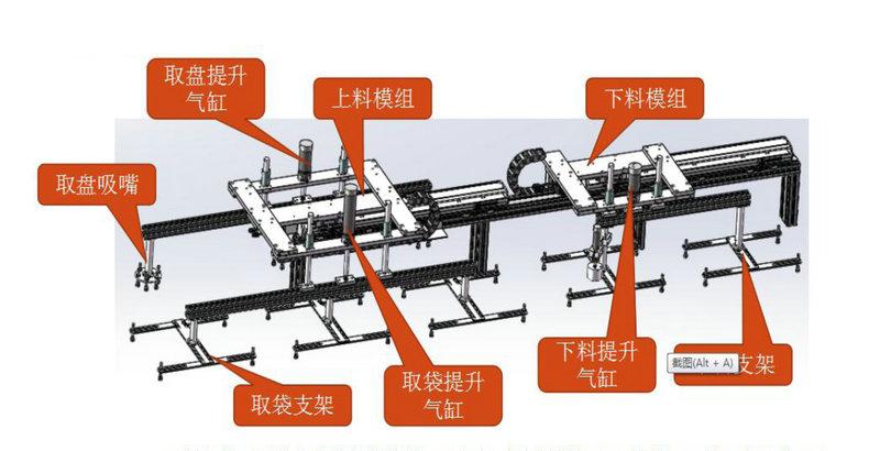 SMD真空包装机之移料机械手