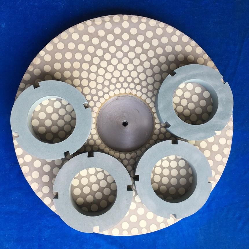 陶瓷修正环砂轮制造工艺原理