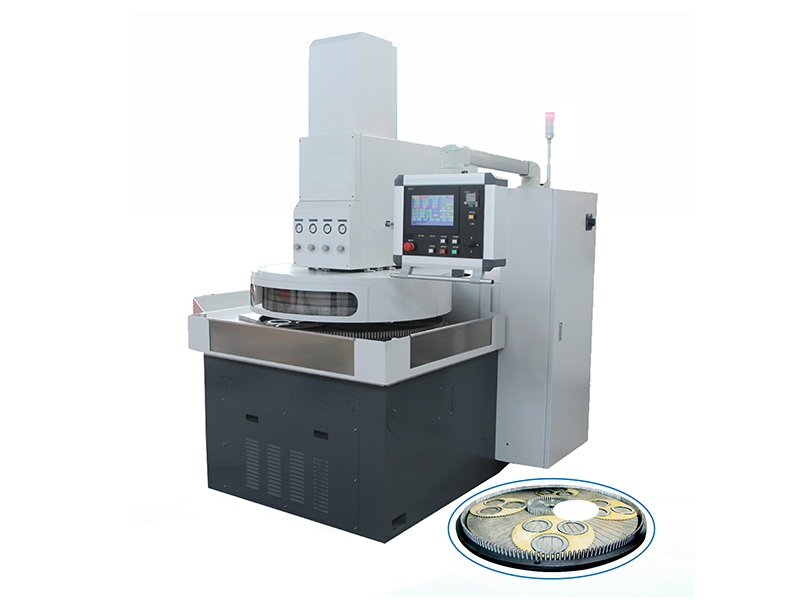 数控高精密双面研磨机适合脆硬零件双面精磨或抛光