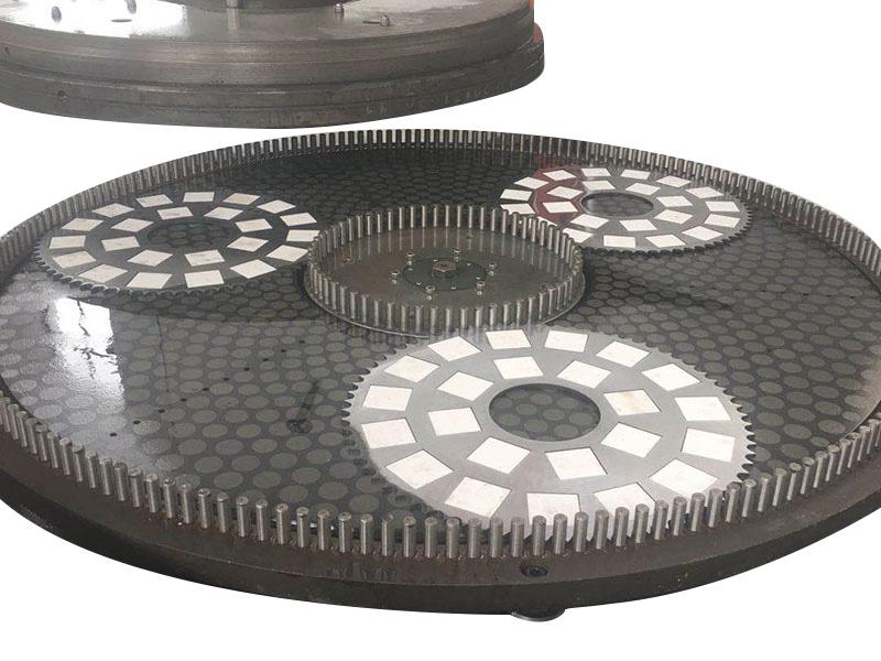 齿轮片端面研磨机床具体特点包括