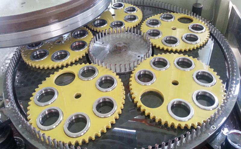 轴承钢套圈精密双面研磨机