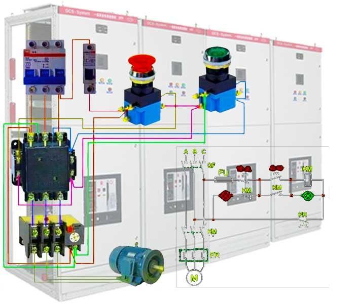 低压配电柜组成图片