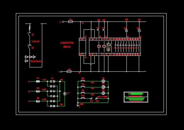 配电柜接线图