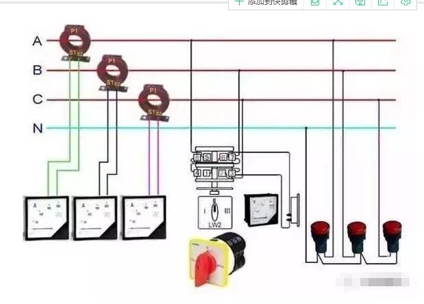 配电箱电流表,配电柜电流表