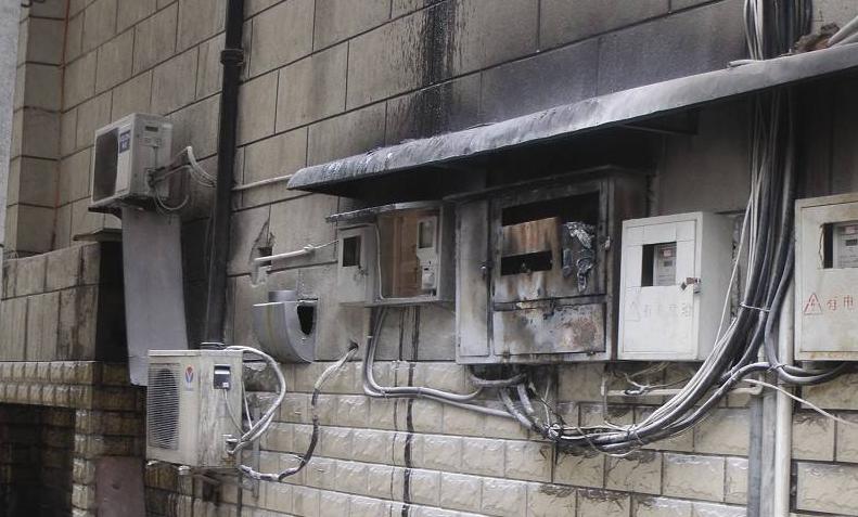 配电箱灭火