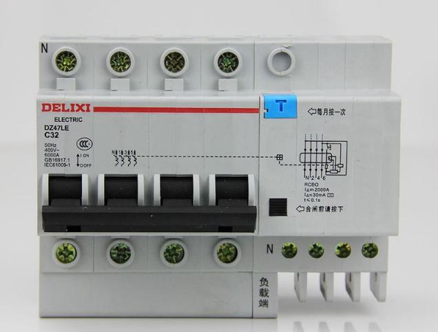 配电箱漏电断路器