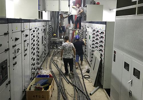 高低压配电柜接线