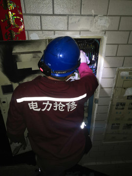 电力设备抢修工程案例图片