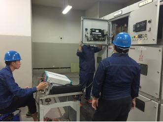 高低壓配電櫃安裝工程案例圖片