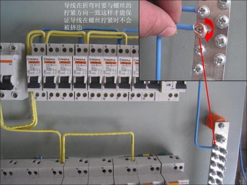 配电箱安装工程案例图