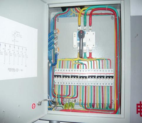 配电箱接线图
