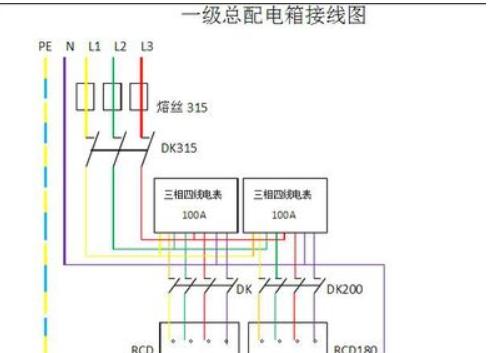 380v配电箱接线方法
