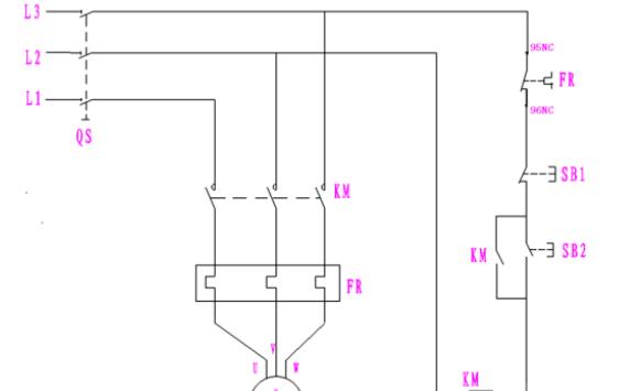 配电箱的接线图