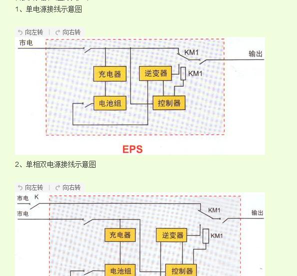 双电源配电箱接线图