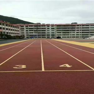 生態透水混凝土-小學跑道