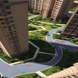 生態透水混凝土-小區道路