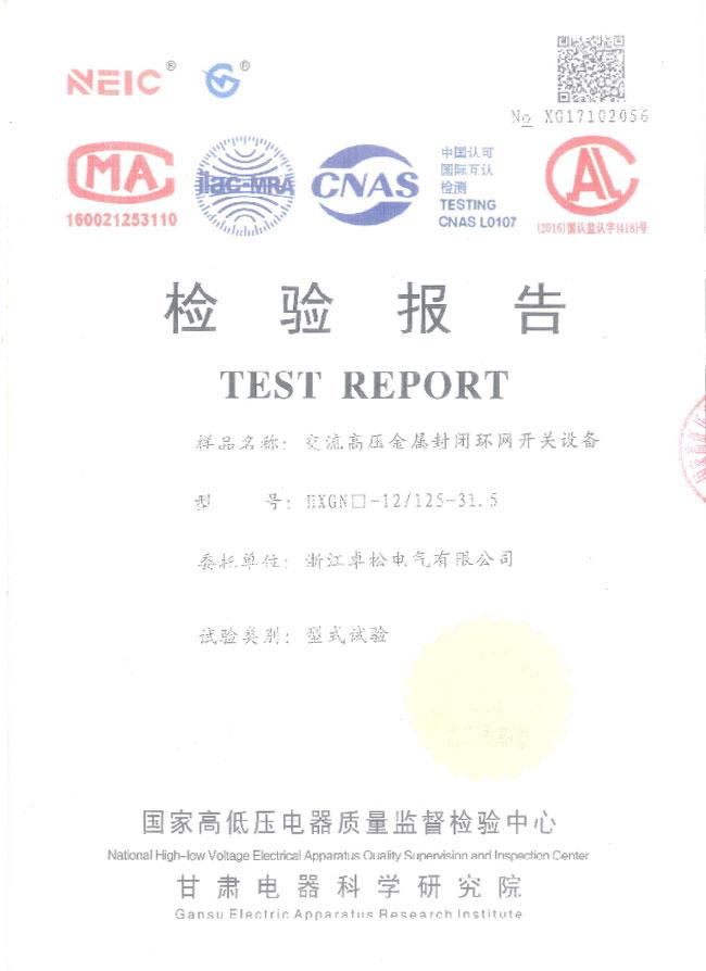 01-检验报告—交流高压金属封闭环网开关设备.jpg