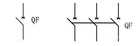 断路器的图形符号