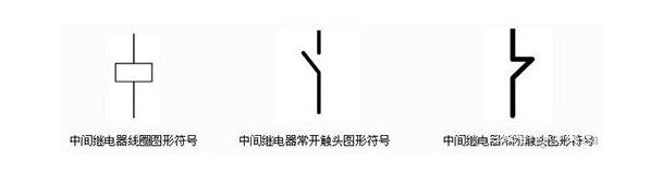 中间继电器图形符号