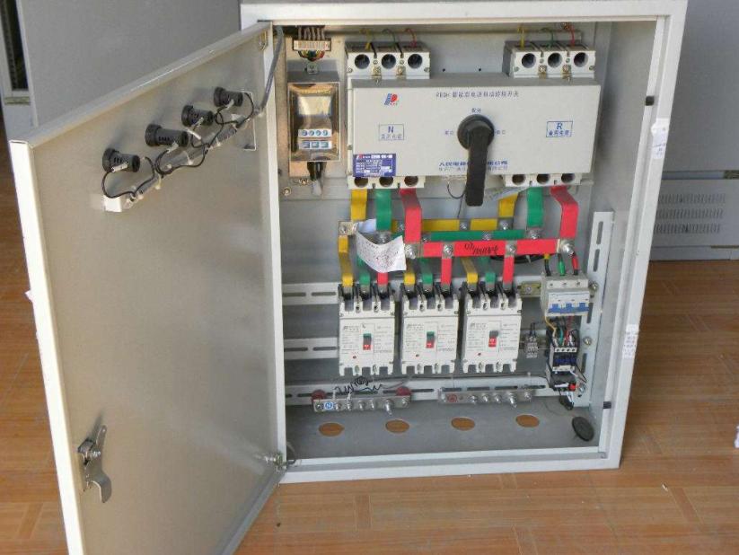 配电箱内部接线