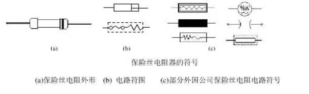 保险丝电阻器符号