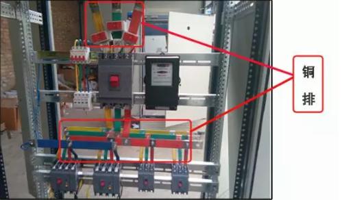 成套GGD配电柜铜排使用量计算方法图片