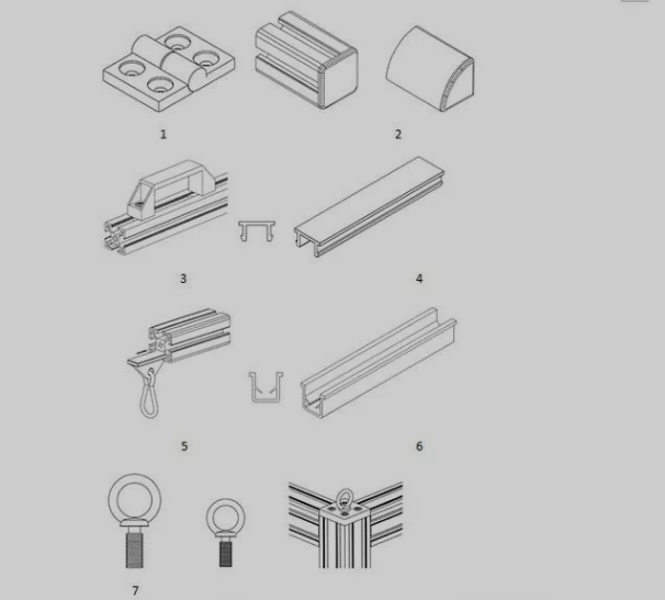 沈阳工业铝型材配件