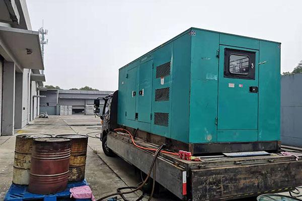 杭州发电机租赁