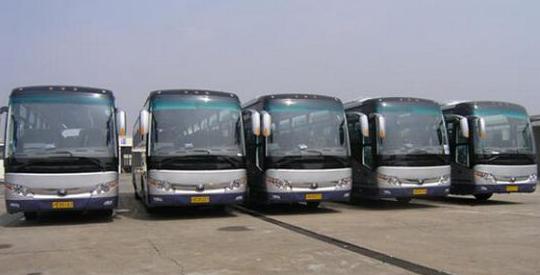 上海大巴租车