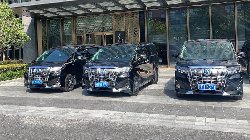 上海埃尔法包车