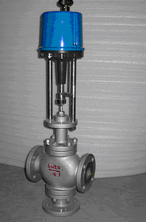 導熱油電動三通調節閥