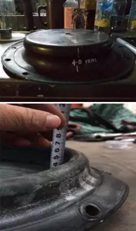 40mm为膜片的高度